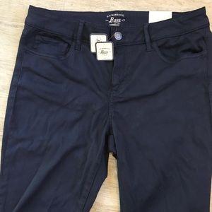 NWT G.H. Bass Skinny Fit Dark Blue Stretch Pants